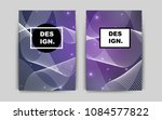 light purple vector template...