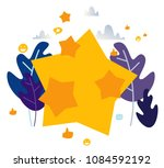 illustration on white... | Shutterstock . vector #1084592192