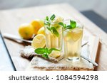 refreshing summer drink with...   Shutterstock . vector #1084594298