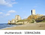 sinop castle. at the tip of the ... | Shutterstock . vector #108462686