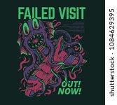 failed visit illustration | Shutterstock .eps vector #1084629395