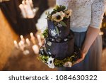 Black Loft Wedding Cake