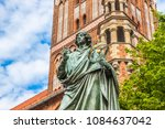 famous statue of astronomer a ... | Shutterstock . vector #1084637042