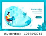 vector concept illustration   ... | Shutterstock .eps vector #1084643768