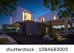 3d rendering of modern cozy... | Shutterstock . vector #1084683005