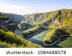 beautiful river gorge landscape. | Shutterstock . vector #1084688078