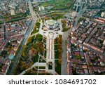 aerial photo of national palace ... | Shutterstock . vector #1084691702