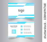 creative business card and name ... | Shutterstock .eps vector #1084694768