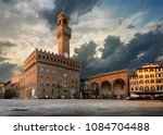 square of signoria in florence... | Shutterstock . vector #1084704488