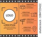 creative concept. advertising... | Shutterstock .eps vector #1084725422