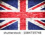 united kingdom  uk  flag... | Shutterstock . vector #1084735748