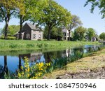Small photo of Old prison guard house in colony of beneficence, Veenhuizen, Drenthe