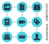 illustration of 9 internet...