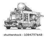 vector hand drawn illustration... | Shutterstock .eps vector #1084757648