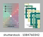 abstract business brochure... | Shutterstock .eps vector #1084760342
