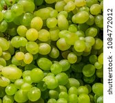 a bunch of fresh  ripe white... | Shutterstock . vector #1084772012