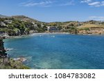 a beautiful view of the coast... | Shutterstock . vector #1084783082