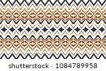 ikat seamless pattern. vector... | Shutterstock .eps vector #1084789958