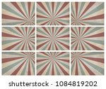 set of retro pattern a vintage... | Shutterstock .eps vector #1084819202