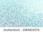 light blue vector geometric... | Shutterstock .eps vector #1084831076