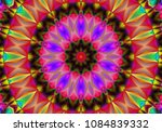 beautiful kaleidoscope ... | Shutterstock . vector #1084839332