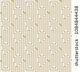 geometric seamless pattern with ... | Shutterstock .eps vector #1084844438