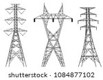 High Electric Tower Graphic...