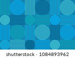 colorful geometric seamless... | Shutterstock .eps vector #1084893962