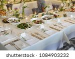 wedding reception place ready... | Shutterstock . vector #1084903232