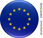 abstract european union flag... | Shutterstock .eps vector #1084925648