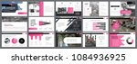 black and pink marketing or... | Shutterstock .eps vector #1084936925