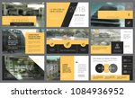 yellow and black design... | Shutterstock .eps vector #1084936952