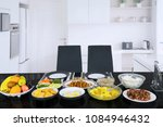 image of empty two chairs with...   Shutterstock . vector #1084946432