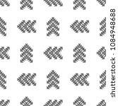black and white seamless ethnic ... | Shutterstock .eps vector #1084948688