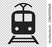 train transportation icon.... | Shutterstock .eps vector #1084950068