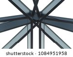 junction   nodal point of metal ... | Shutterstock . vector #1084951958