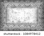 illustration of abstract ornate ... | Shutterstock . vector #1084978412