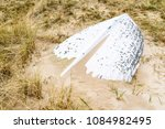 Ahus  Sweden. Sand Covered...
