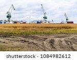 ahus  sweden   april 26  2018 ... | Shutterstock . vector #1084982612