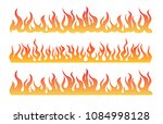 vector of fire flame flyer | Shutterstock .eps vector #1084998128