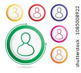 people icon  vector icons  | Shutterstock .eps vector #1085008922