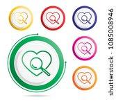 investigate of heart | Shutterstock .eps vector #1085008946