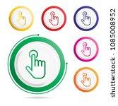hand gesture icon | Shutterstock .eps vector #1085008952