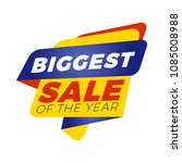 sale banner template. vector... | Shutterstock .eps vector #1085008988