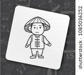 icon people hero | Shutterstock .eps vector #1085036252