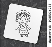 icon people hero | Shutterstock .eps vector #1085036285