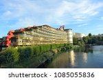strasbourg  france   august 7 ... | Shutterstock . vector #1085055836