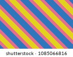 seamless pattern. pink stripes... | Shutterstock .eps vector #1085066816