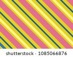 seamless pattern. pink stripes... | Shutterstock .eps vector #1085066876