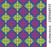 seamless pattern with allover... | Shutterstock . vector #1085068925
